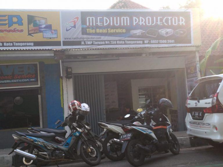 mediumprojector - service projector tangerang